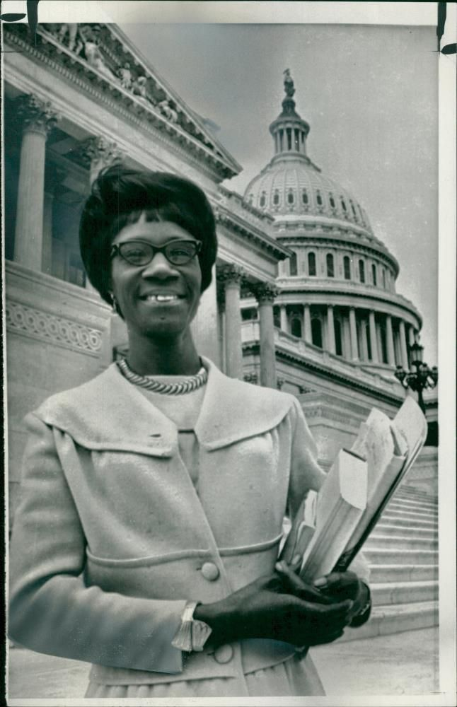 Mrs Shirley Chisholm.
