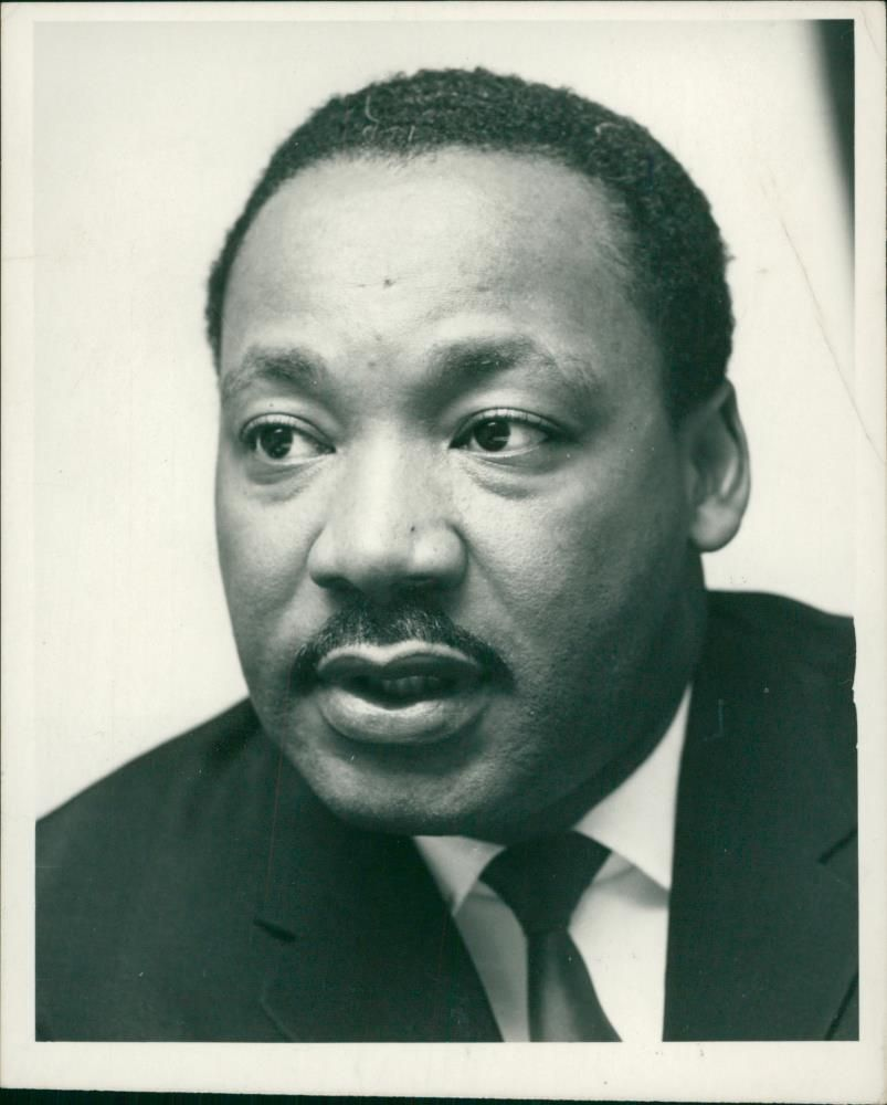 Martin Luther King Jr. American minister.
