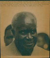 President Kenneth Kaunda in Lusaka