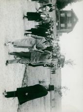 Crown Prince's trip to Västergötland and Värmland in 1931
