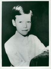 Prince Henri of Luxembourg on his first communion