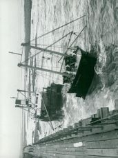 The 982-tonne Holderness Navy was wrecked at Blyth