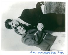 Arthur Hutchinson with first wife margaret dove.
