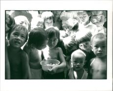 Vietnamese children of boat people.