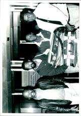 Murphy Morobe, Ngconde Balfor, Mi Hlatswayo and Krish Mackerdhuj.