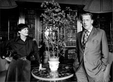 George Henry Hubert Lascelles and Patricia Harewood