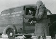 The Automobile National Association Technical Services in Finland as assistance during the Winter war. 1940