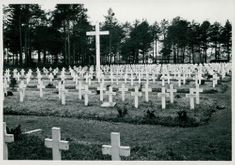 A view of soldiers cementery during the Winter war.