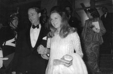 Princess Irene and Carlos Hugo attend a gathering, 1969.