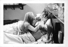 Dyan Cannon as Judith Austin and John Philip Law as Robin Stone in the Film, Love Machine. 1971