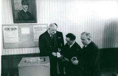 Charles de Gaulle during election.
