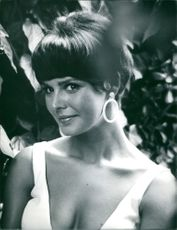 Portrait of Mary Michael from the film In Like Flint, 1966.