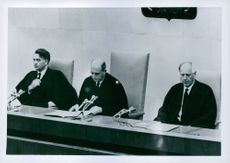 Adolf Eichmann trial.