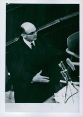 Prosecutor at trial of Adolf Eichmann.