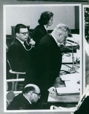 Trial of Adolf Eichmann.