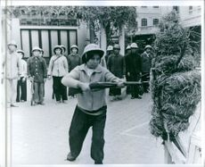 Vietnam recruits training for war against the American.