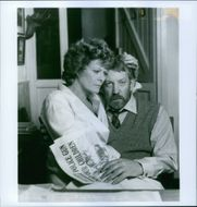 Donald Sutherland as Ben du Toit and Janet Suzman as Susan du Toit in a scene from the film
