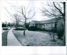 George Diener's house. Photo taken on  May 18, 1972.