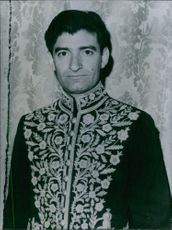 Vintage photograph of Dr. Gholam Riza Nikpay. 1967.