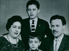 A photograph of a family.
