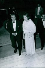 The Royal couple Don Juan Carlos and his wife Sofia arrived in an event