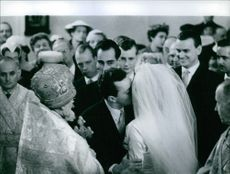 1957 The Wedding of The Wedding of Princess Marie Louise of Bulgaria and Prince Karl of Leiningen