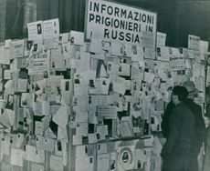 Prisoners information in Russia. 1946.