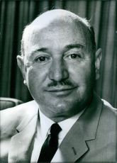 Australian Politicians Portrait of Minister of Civil Aviation since 1965 Reginald W.C. Swartz. 1969