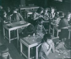 Children of political prisoners taken care of by the state straightened home. 1946