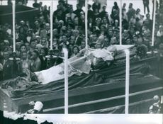 Pope Pius XII 's funeral.