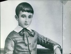Childhood photo of Pope Pius XII. 1906