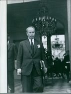 Antoine Pinay was a French conservative politician.