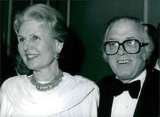 British Film directors Sir Richard & Lady Attenborough