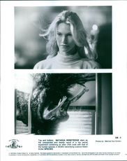 "Natasha Henstridge stars as Sil, in a 1995 American science fiction thriller film, ""Species""."