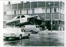 """A scene from the film """"The Blues Brothers""""."""