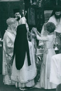 A photo of The Christening Of Princess Alexia Of Greece And Denmark