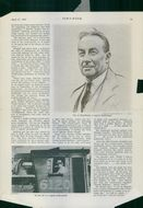 Newspaper about Stanley Baldwin.