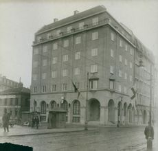 View of building.