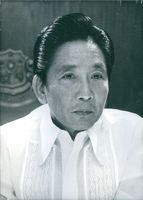 Portrait of Ferdinand Marcos.