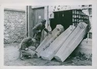 A Photo of the German Cellar of Death