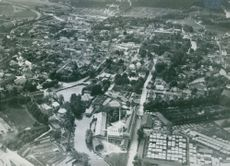 Aerial view of Nykoping locality