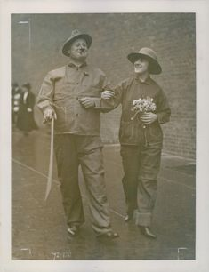 George Hassell with Priscilla Wagner