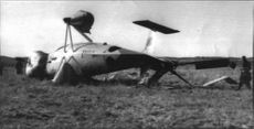 The wrecked Vertol helicopter had fuselage and rotor damaged by accident at Torslanda Airport