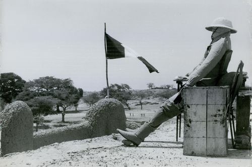 A Photo of a Mock Watchman