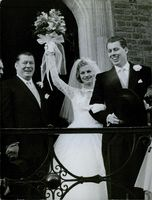 Gene Tunney attended his son's wedding. 1959