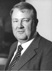 Portrait of Edwin Meese .