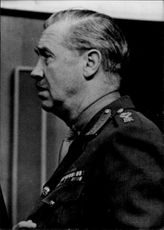Portrait of Field Marshal Sir Richard Hull.