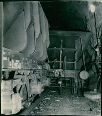 In Vassijaure a tunnel was again corked by traced ore wagons that blocked all traffic on the national boundary