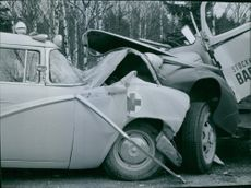 Picture from a car crash