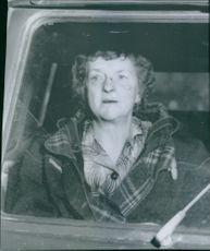 """Chef Gerda Malmberg, who was injured in trying to save a boy when the """"Gentiana"""" engine was lost in Hanö Bay"""